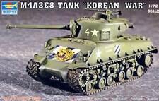 Trumpeter M4A3E8 Citerne T80 Track Coréen Guerre Réservoir 1:72 Kit de montage