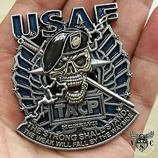 """2.5"""" US Air Force US Air Force TACP Military Challenge Coin Double Side Pewter"""