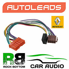 Autoleads PC2-15-4 Renault Clio, Espace, GTA, Savana Car Stereo ISO Adaptor Lead