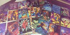 1995 Marvel Masterpieces base set. singles complete your set!
