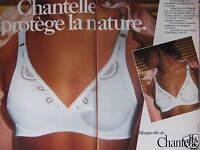 PUBLICITÉ SOUTIEN-GORGE RHAPSODIE DE CHANTELLE AVEC ARMATURE