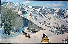 Aspen CO~1969 Aspen Mountain ~ SKI SKIING~ Snow Cat