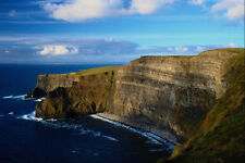 671061 Ladies View The Cliffs Of Moher County Clare Ireland A4 Photo Print