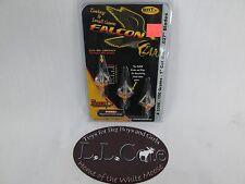 "Innerloc Falcon Claw Turkey & small game broadhead 1"" cut 100 grain COC .027"""