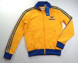 ADIDAS ORIGINALS Men's 70's Archive Trefoil Track Jacket size S #GE0852 NEW NWT
