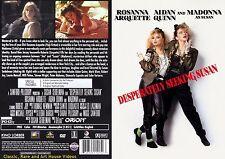 Desperately Seeking Susan ~ New DVD ~ Rosanna Arquette, Madonna (1985)