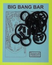 Capcom / PMI Big Bang Bar pinball rubber ring kit