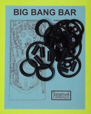 Capcom / PMI Big Bang Bar pinball rubber ring kit