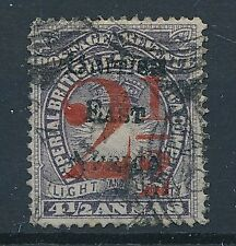 [55270] British East Africa 1895 good Used Very Fine overprinted stamp $120