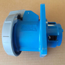 NEW Hubbell HBL560B9R 4 Pole 60A 30Y 3HP 120/208V Watertight P&S Inlet