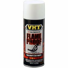 Duplicolor SP101 Flat White VHT Flameproof Header High Heat Paint Aerosol