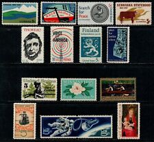 1967 Comm Year Set Scott 1323-1337, 15 Stamps Complete MNH