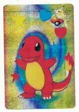Pokemon Bandai Carddass Charmander Prism 1998 Holo Vending EX-6 Anime Card