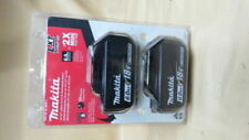 Makita BL1860B-2 18V LXT Lithium-Ion Battery - 2 Pieces