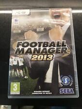 Football Manager 2013 (Sega-Pc/Mac DVD edición) con folleto.