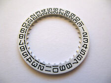 Longines 503 New Date Disc 3 O'Clock Part 2557 Black Numbers On White
