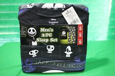The Nightmare Before Christmas Men's 2-Piece Sleep Set size men's small NEW
