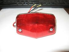 Rupp Roadster minibike others tail light 12v with plate light illumination