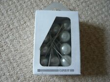 OASIS IVORY PEARL 25MM X 75MM CORSAGE PINS 10 IN A BOX BRAND NEW & SEALED