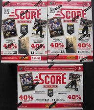 3x 2013-14 PANINI score Hockey BOX NHL Hockey su ghiaccio OVP SEALED 132 CARDS tramite BOX