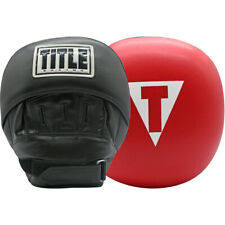 Title Boxing Double-Stuffed Jumbo Training Punch Mitts - Black/Red