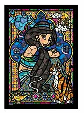 Jigsaw puzzle Stained Art Aladdin Jasmine Stained-glass windows tightly series