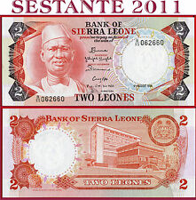 SIERRA LEONE  -  2  LEONES 4.8. 1984   -    P 6g    -   FDS / UNC