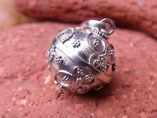BUTTERFLY HARMONY/CHIME BALL ANGEL CALLER BALINESE 925 SILVER HANDCRAFTED