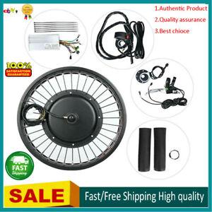 Electric Bike 48V 1000W Hub Motor Conversion Kit Wheel 20x4 inch with Meter❤G