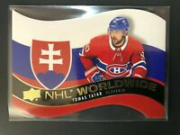 2020-21 Upper Deck Series 1 Tomas Tatar NHL Worldwide Slovakia DieCut