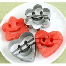 4Pcs/Set Smile Face Biscuit Cookie Fondant Cutter Cake Stainless Steel Decor 6A