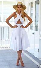 Polyester Midi Formal Dresses for Women