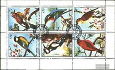Sharjah 1178-1183 Sheetlet (complete issue) used 1972 Birds
