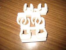 Rohrclip, Kunststoff, Kunststoff Rohr Schelle für Kupferrohr, Rohr, 22 mm