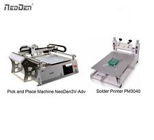 NeoDen Desktop Pick and Place Machine with 2 Cameras NeoDen3V-Adv Solder Printer