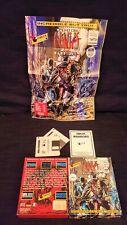 Ninja Warriors Commodore Amiga +poster  CIB fantastic condition