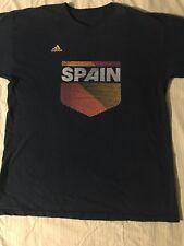 Adidas Vintage Spain T-shirt •Size Large