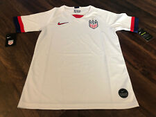 New Nike Youth USA Soccer Breathe Jersey Size XL White Red Blue