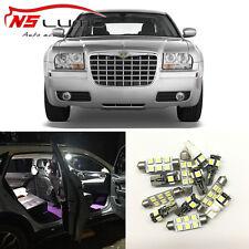 12xWhite Interior & Outer LED Light Bulb Package Kits for Chrysler 300 2005-2010