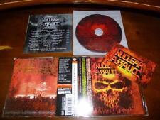 Nuclear Assault / Third World Genocide JAPAN w/Sticker A3