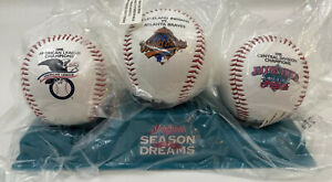 Cleveland Indians Chief Wahoo Baseball Season Of Dreams (3) Total From McDonalds