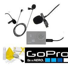LAVALIER MICROPHONE FOR GOPRO HERO4 BLACK HERO4 SILVER + FREE GIFT