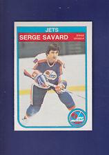 Serge Savard HOF 1982-83 O-PEE-CHEE Hockey #390 (NM+) Winnipeg Jets