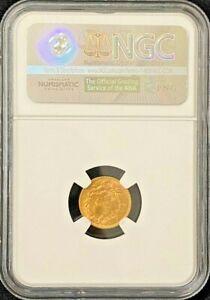 1889 Indian Princess Head $1 Dollar Gold Coin NGC MS 65+