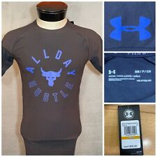 Under Armour Project Rock Vanish All Day Hustle Shirt 1330916-001 Men's Small