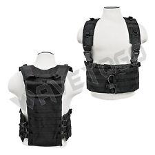 VISM NcSTAR Tactical AR Chest Rig Magazine Pouch PALS Web Hydration Black