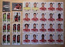 Panini UEFA Euro 2016 France Complete Team Austria + 2 Foil Badges