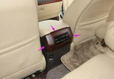 Peach Wood Grain Rear Air Vent Outlet cover For Toyota Prado FJ150 2010-2017
