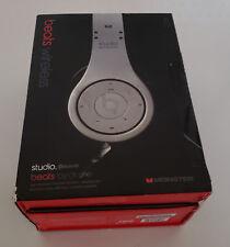 Silver Monster Beats Dre Studio Wireless On Ear Headphones -Works but SOLD-AS-IS