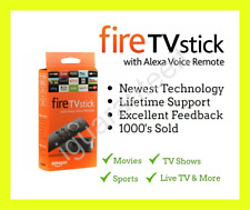 Amazon Fire TV Stick with Alexa Remote 2nd Gen - Movies, TV, Sports, etc